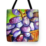Purple Grapes Tote Bag