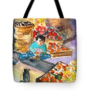 Fruit Shop In The Mountains Of Gran Canaria Tote Bag