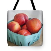 Fruit Stand Nectarines Tote Bag