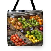 Fruit Stand Tote Bag