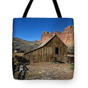 Fruita Horse Stable Capitol Reef National Park Utah Tote Bag