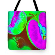 Fruitilicious - Lime And Green Apples - Photopower 1817 Tote Bag