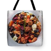 Fruity Tea With Bamboo Leaves Tote Bag