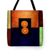 Fruity Triptych Tote Bag
