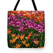 Fruity Tulips Tote Bag