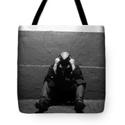 Frustration In Thought. Tote Bag