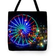 Florida State Fair Pano Work E Tote Bag