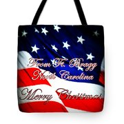 Ft. Bragg - Christmas Tote Bag