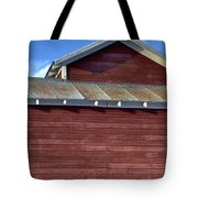 Ft Collins Barn 13550 Tote Bag by Jerry Sodorff