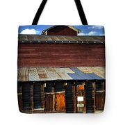 Ft Collins Barn 13553 Tote Bag by Jerry Sodorff