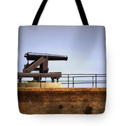 Ft Gaines - Cannon Tote Bag