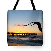 Ft Lauderdale Fishing Pier Tote Bag