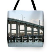 Ft. Pierce Causeway Tote Bag