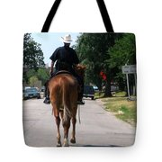 Ft Worth Texas Police Tote Bag