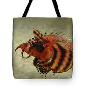 Fu Manchu Lionfish Tote Bag