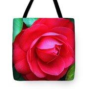 Fuchsia Camellia In Pastel Tote Bag
