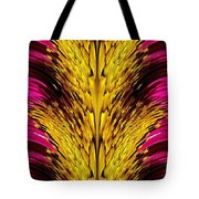 Fuchsia Sensation Abstract Tote Bag