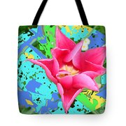 Fuchsia Tulip By M.l.d. Moerings 2012 Tote Bag