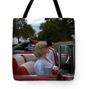 Fuel Injection Cadillac Tote Bag