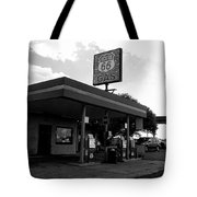 Fueling Up On 66 Tote Bag