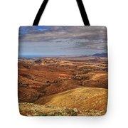 Fuerteventura Iterior Panorama Tote Bag