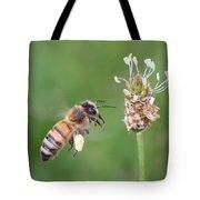 Full Basket Of Plantain Pollen Tote Bag