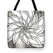 Full Bloom Iv  Tote Bag