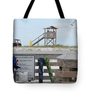 Full Day At The Beach Tote Bag