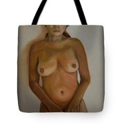 Full Frontal Well Almost Tote Bag