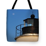 Full Moon At Piney Point Tote Bag