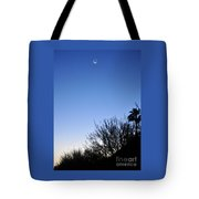 Full Moon Faded Tote Bag