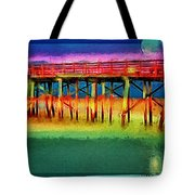 Full Moon In Flagler Tote Bag