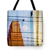 Full Moon In The City Tote Bag