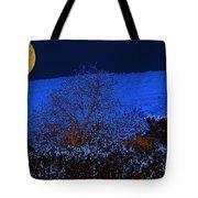Full Moon Night Tote Bag