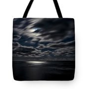 Full Moon On The Bay Of Fundy Tote Bag