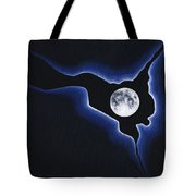 Full Moon Silver Lining Tote Bag