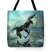 Full Moon Twist And Shout Tote Bag