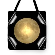 Full Moon Unfolding Tote Bag