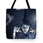 Full Moon Witch Tote Bag
