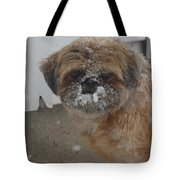 Full Of Snow Tote Bag