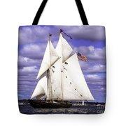 Full Sails Ahead Tote Bag