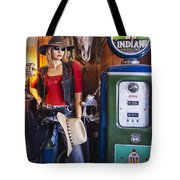 Full Service Route 66 Gas Station Tote Bag