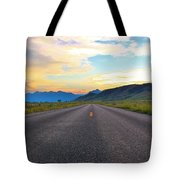 Full Speed Ahead Tote Bag