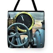 Full Steam Ahead Hmcs Haida Tote Bag by Danielle  Parent