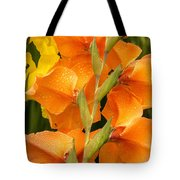 Full Stem Gladiolus Tote Bag
