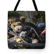 Full Throttle Teddy Bear Tote Bag