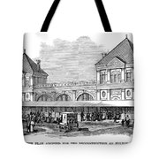 Fulton Fish Market, 1881 Tote Bag