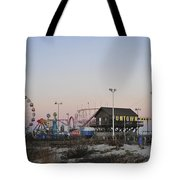 Fun At The Shore Seaside Park New Jersey Tote Bag