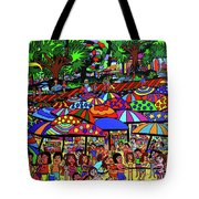 Fun Beach Tote Bag