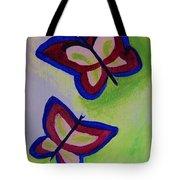 Fun Butterflies Tote Bag